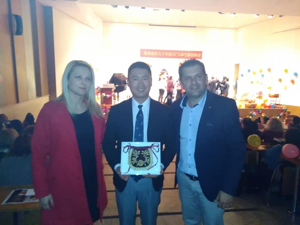 Εκπροσώπηση EUROPALSO σε κινεζική εκδήλωση από το ΚΞΓ «Σ. Καθαρός»