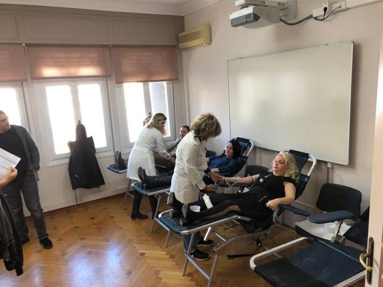 Με μεγάλη επιτυχία διεξάχθηκε η Ετήσια Εθελοντική Αιμοδοσία Europalso 2019